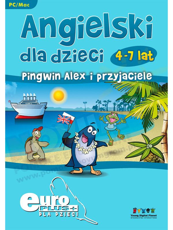 Novum Angielski dla dzieci: Pingwin Alex i przyjaciele EuroPlus