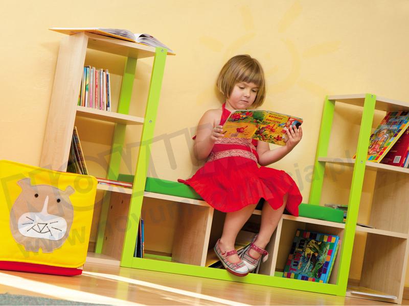 Novum Biblioteczka z siedziskiem