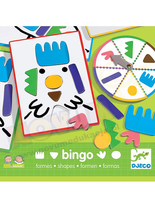 Novum Bingo kształty