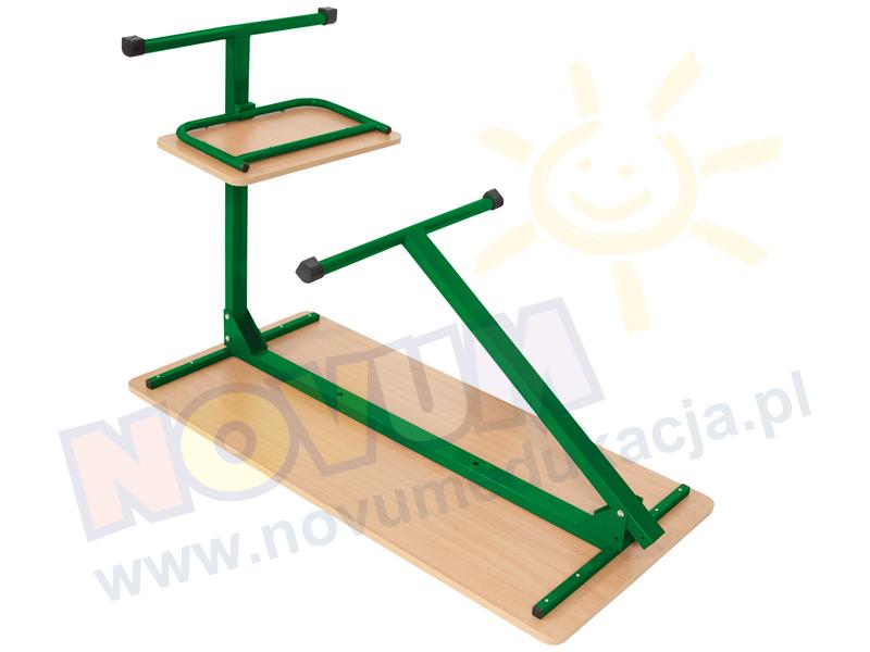 Novum Biurko komputerowe LL 76 cm zielone