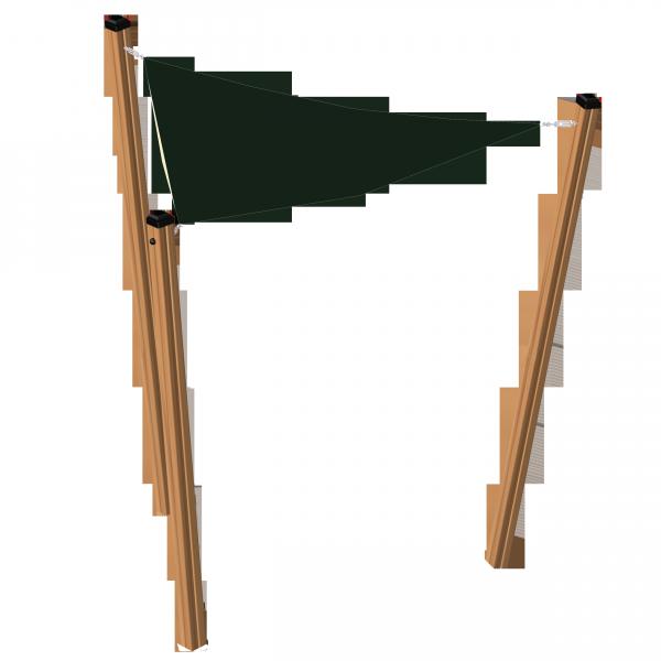 Lars Laj Daszek trójkątny Pioneer 3x3x3 (Modrzew)