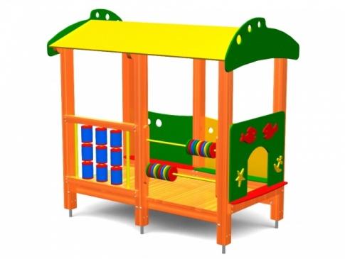 Elmo Place Zabaw Domek 001