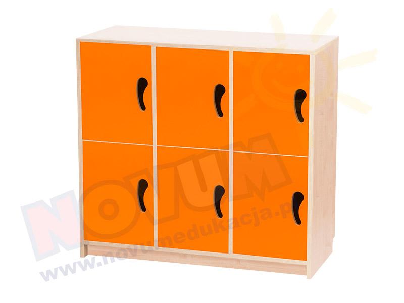 Novum Drzwiczki N pomarańczowe