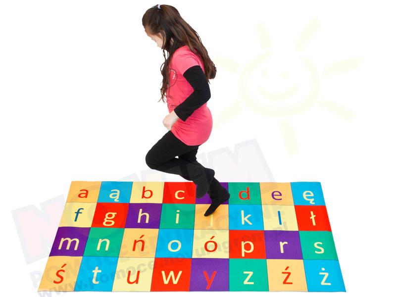 Novum Dywanik Polski alfabet