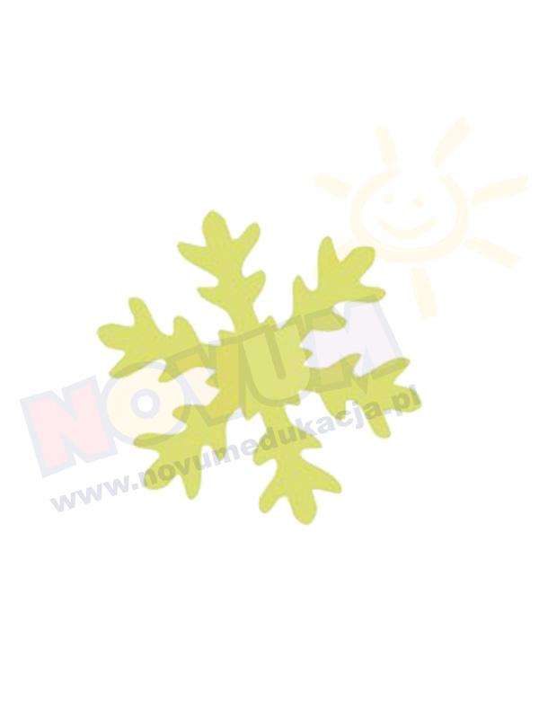 Novum Dziurkacz ozdobny 5 cm śnieżynka