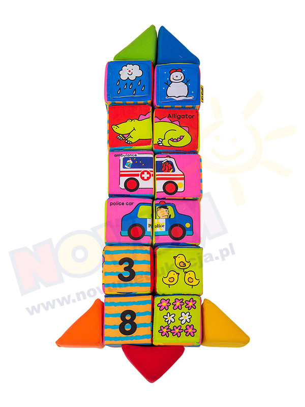 Novum Edukacyjne klocki - puzzle