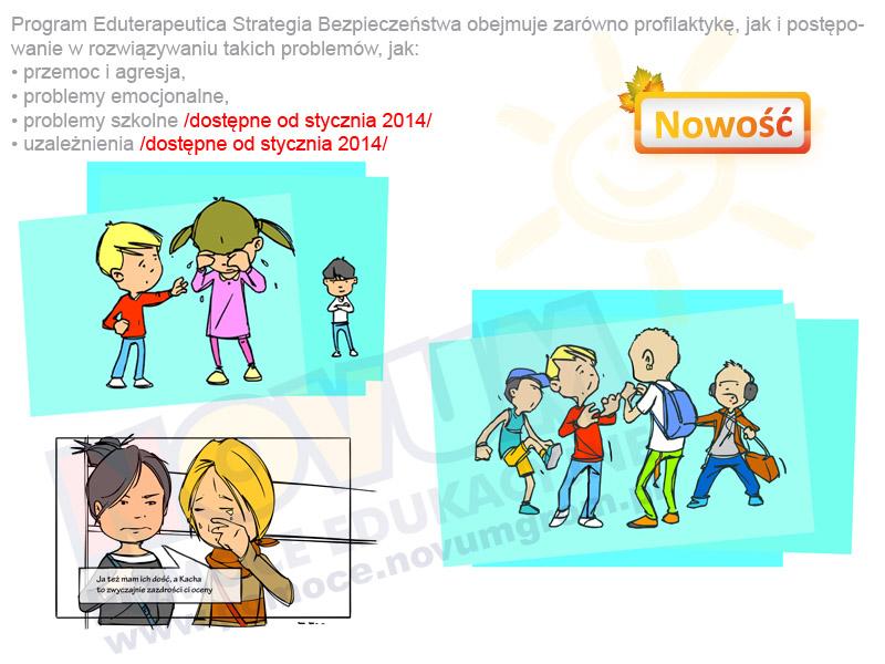 Novum Eduterapeutica Strategia Bezpieczeństwa moduł - Przemoc