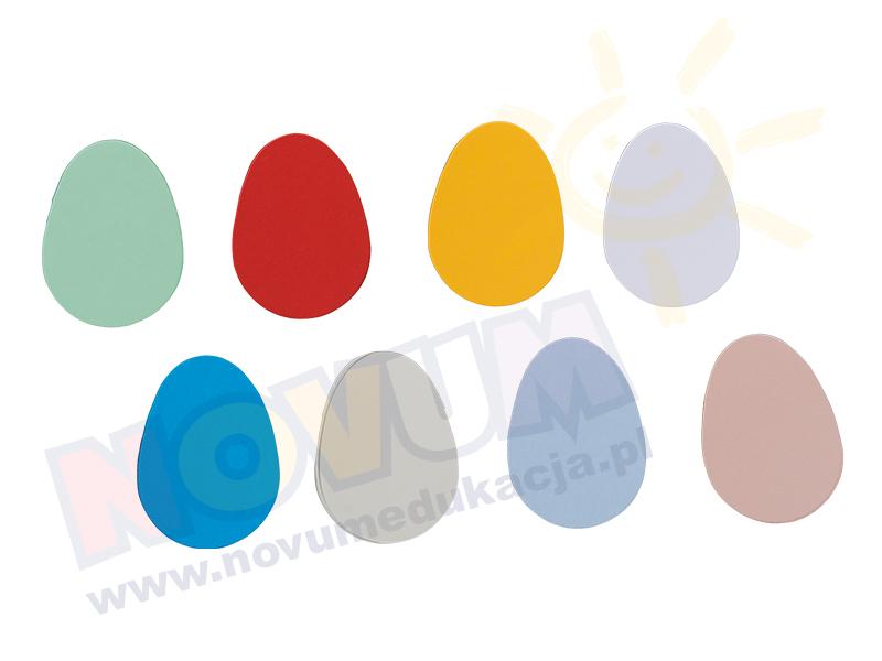 Novum Jajka kartonowe duże 10 cm