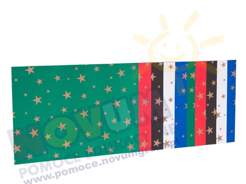Novum Karton w złote gwiazdki