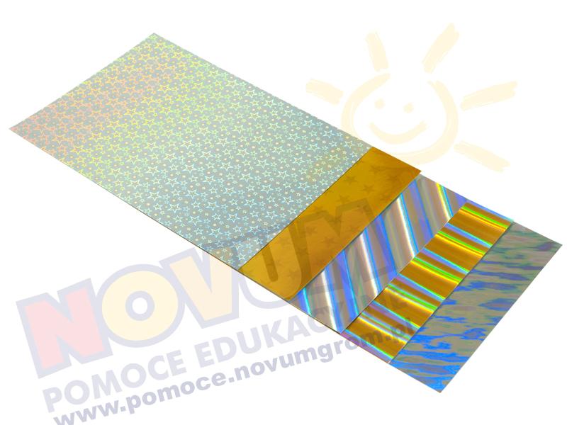 Novum Karty holograficzne 23x33 cm