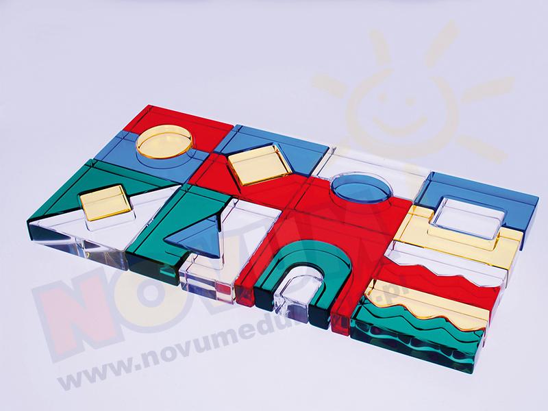 Novum Klocki akrylowe