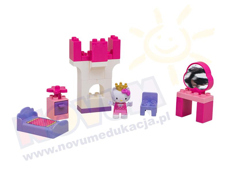 Novum Klocki Hello Kitty Księżniczka