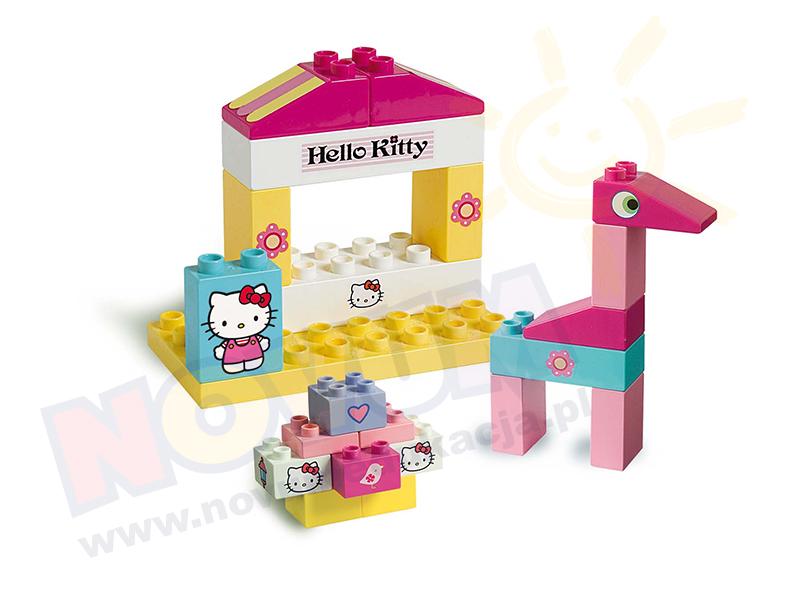 Novum Klocki Hello Kitty Wiaderko duże