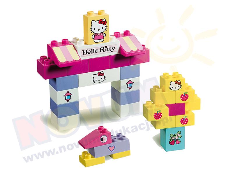 Novum Klocki Hello Kitty Wiaderko małe