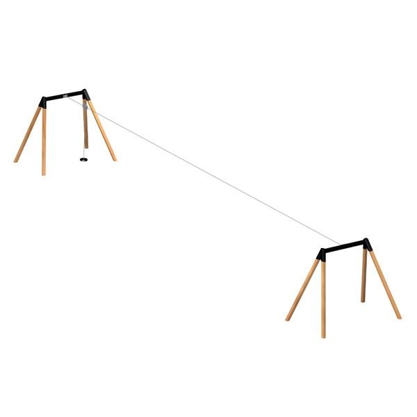 Lars Laj Kolejka linowa drewniana