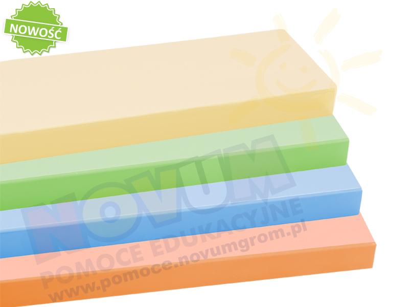 Novum Kolorowy stół z dokrętkami - Okrągły 100 - zielony