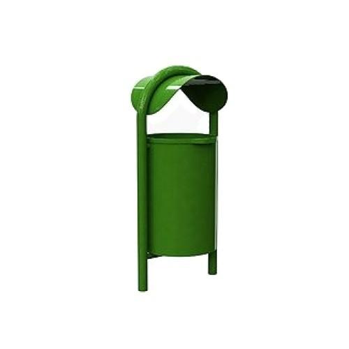 Inter Play kosz na śmieci 75 L - metalowy (MR0210)