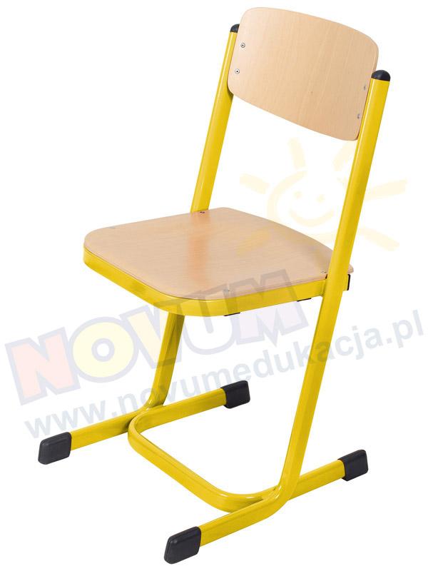Novum Krzesło MST 26 żółte