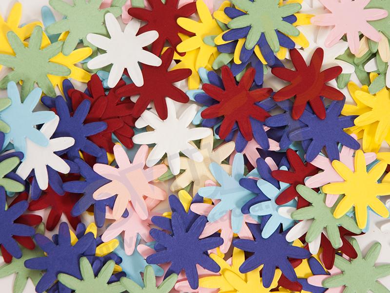 Novum Kwiaty kartonowe 3,4 cm