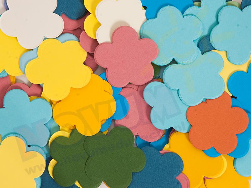 Novum Kwiaty kartonowe 4,5 cm
