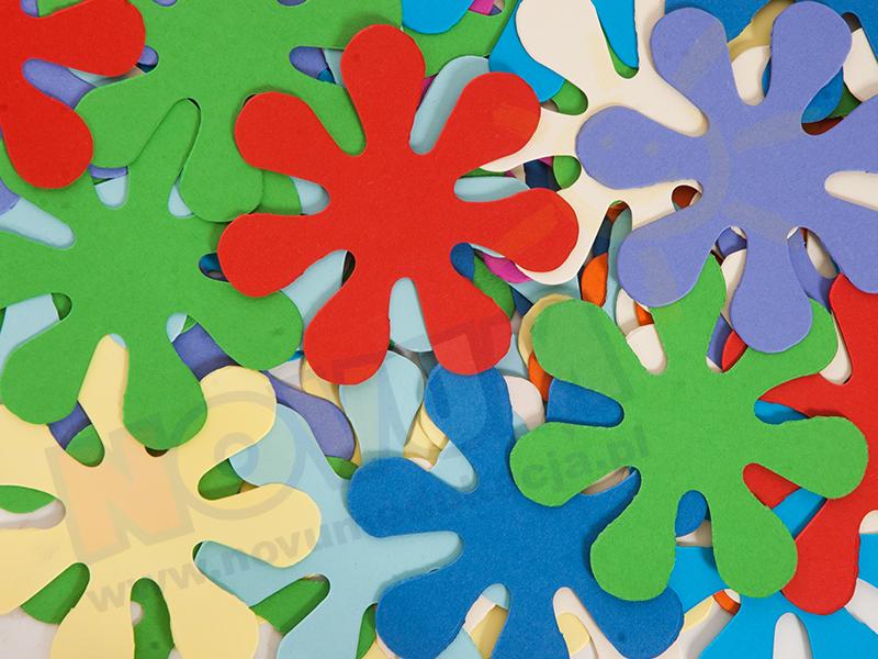 Novum Kwiaty kartonowe 9 cm