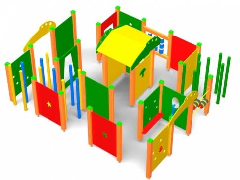 Elmo Place Zabaw Labirynt 001