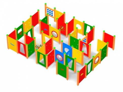Elmo Place Zabaw Labirynt 002