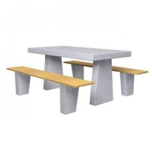 Inter Play Ława betonowa, siedzenia bez oparć (MR5100)