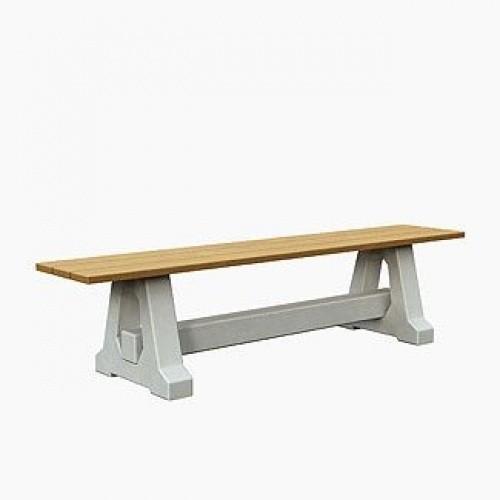 Inter Play Ławka betonowa bez oparcia (MR0052)