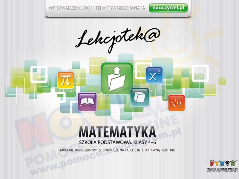 Novum Lekcjotek@ Matematyka dla klasy 4-6