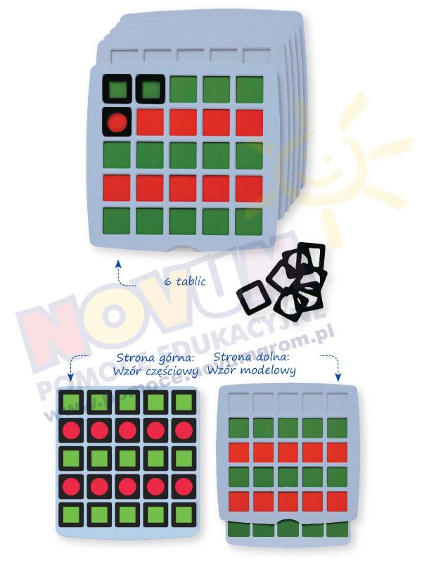 Novum Logiczne tablicekolory i kształty