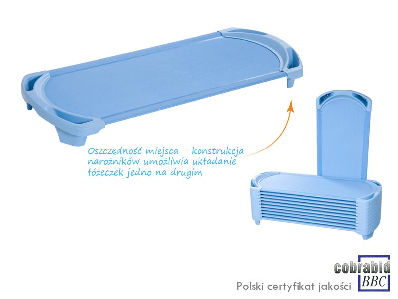 Novum Łóżeczko MAX - błękitne