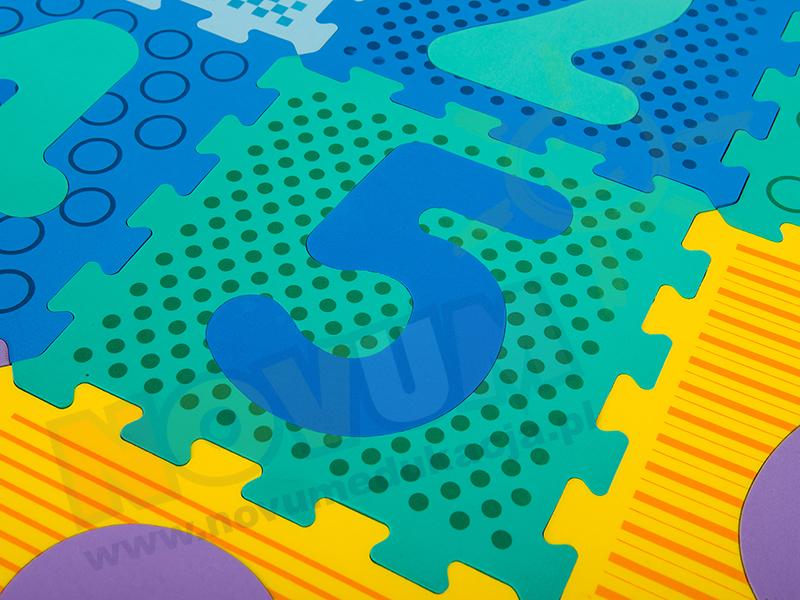 Novum Mata puzzle Cyfry