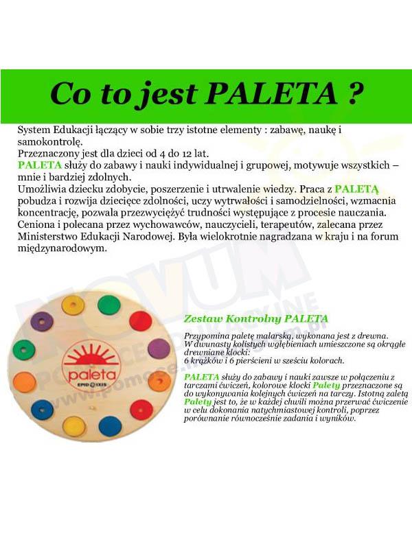 Novum PALETA - Zestaw kontrolny