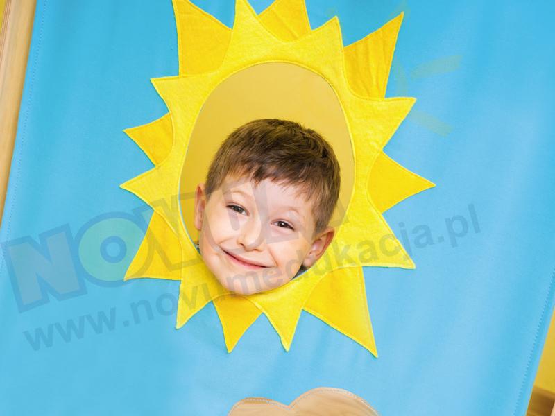 Novum Parawan - wysoki - słońce
