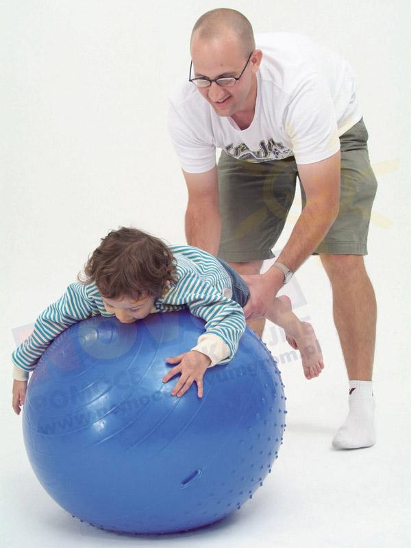 Novum Piłka do masażu z wypustkami