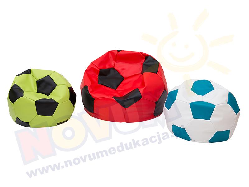 Novum Piłka nożna mała, zielono-czarna