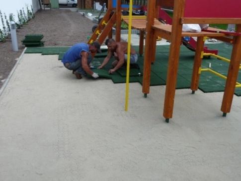 Elmo Place Zabaw Płyty gumowe