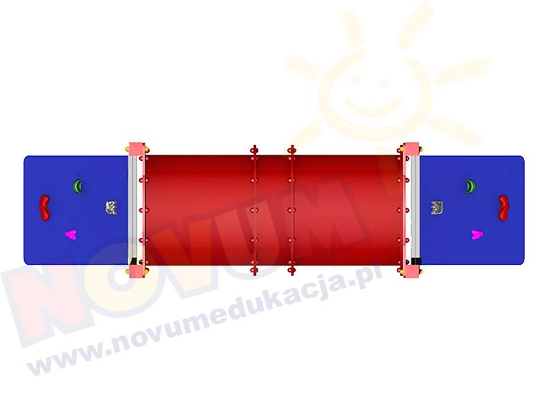 Novum Pomost tunelowy z wejściem wspinaczkowym