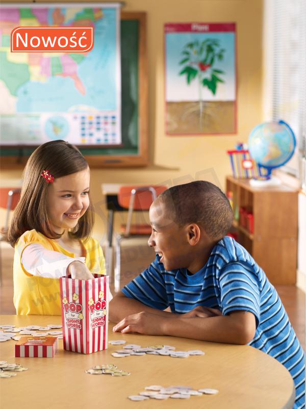 Novum Popcorn zabawy z popularnymi wyrazami