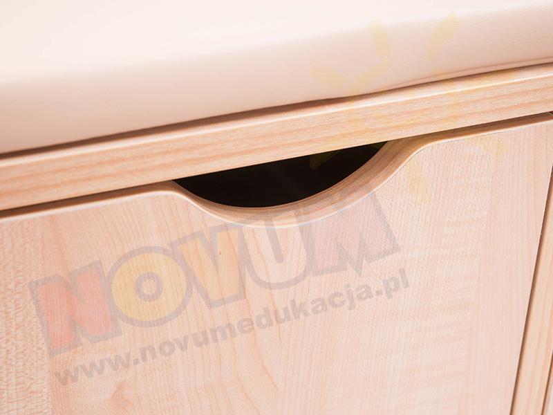 Novum Przewijak z szufladami lewy