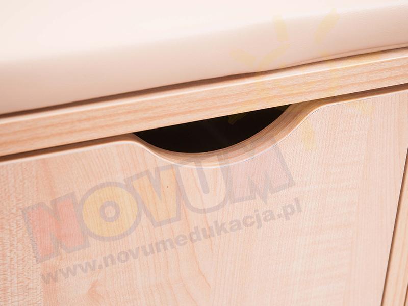 Novum Przewijak z szufladami prawy