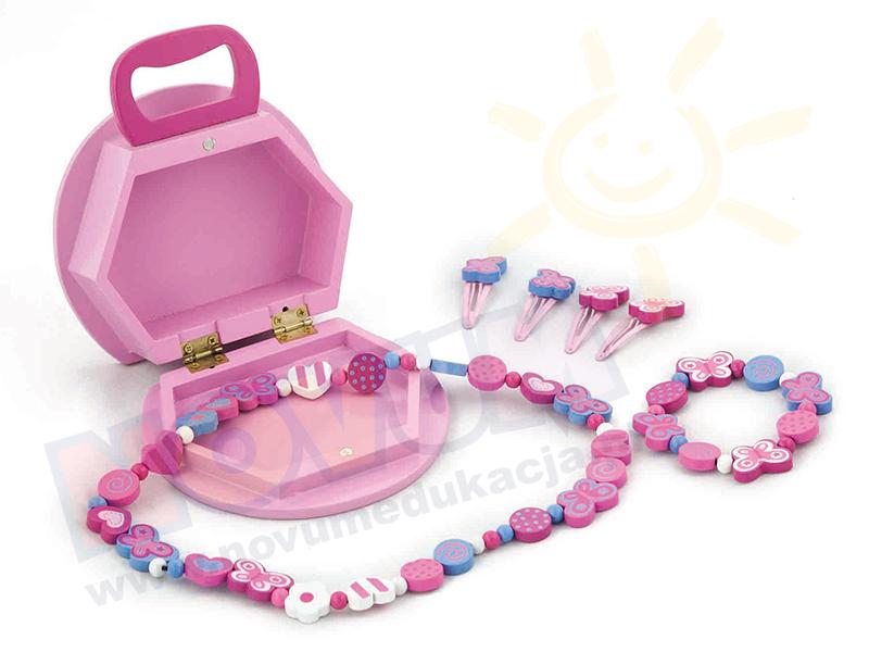 Novum Pudełko na biżuterie -motyl
