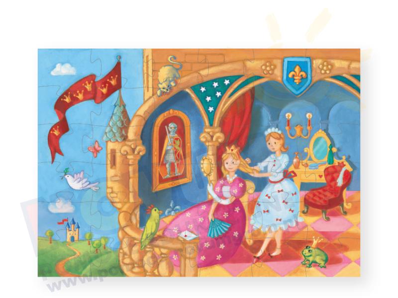 Novum Puzzle Księżniczka