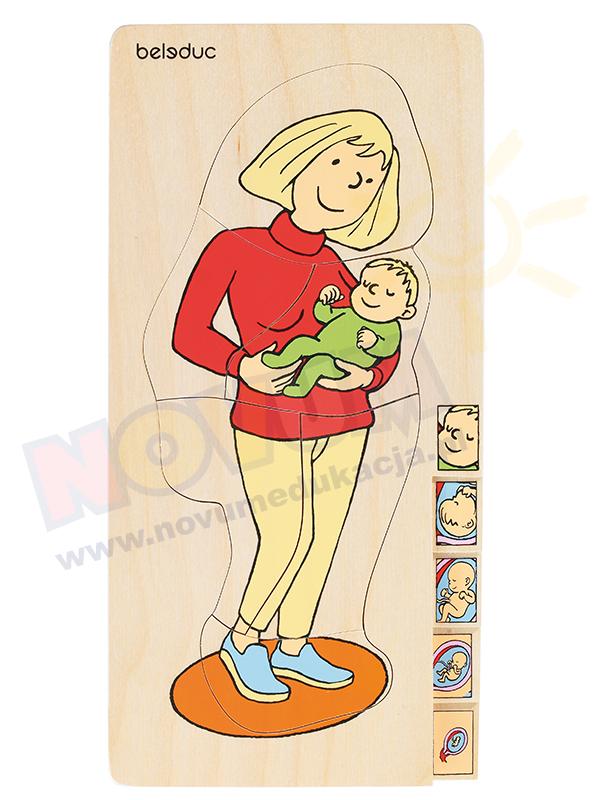 Novum Puzzle wielowarstwowe Mama