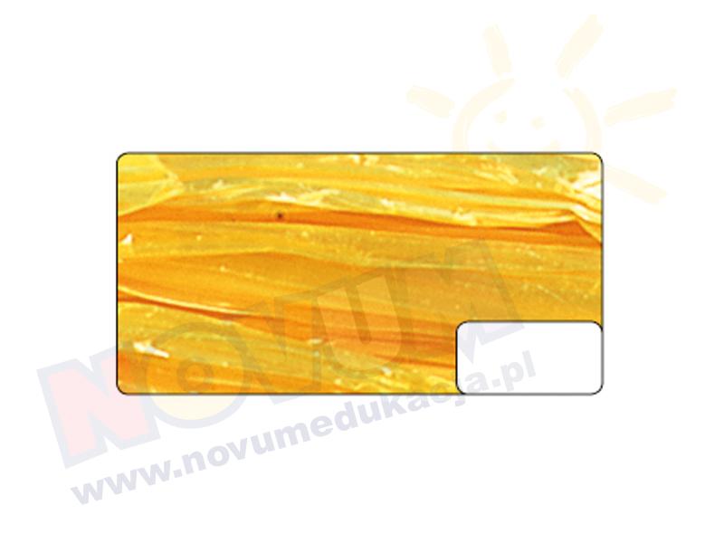 Novum Rafia z połyskiem żółta