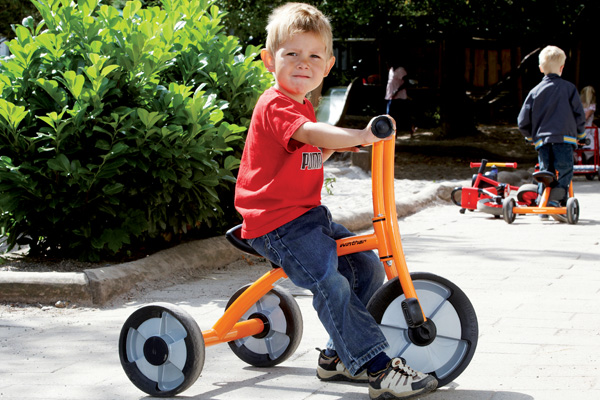 Educarium Rowerek trójkołowy średni