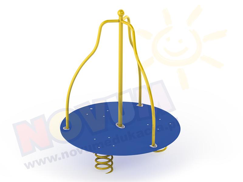 Novum Równoważnia na 3 sprężynach z poręczami