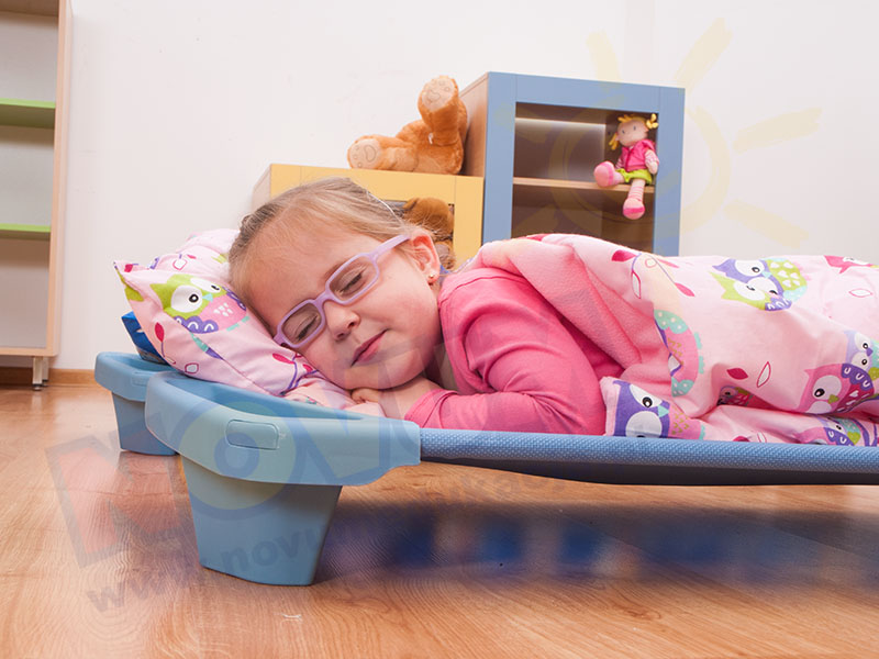 Novum Śpiworek różowy z poduszką w pokrowcu
