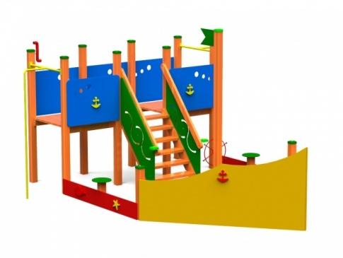 Elmo Place Zabaw Statek mały